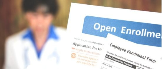 open-enrollment-healthcare-forms-and-medical-doctor-picture-id821551442
