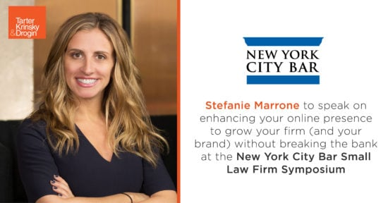 2019-08-15_SMarrone NYCBA Small Law Firm Practice Mgmt Symposium_LinkedIn