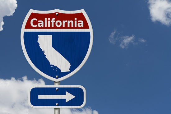 Labor and employment_California_Road Sign