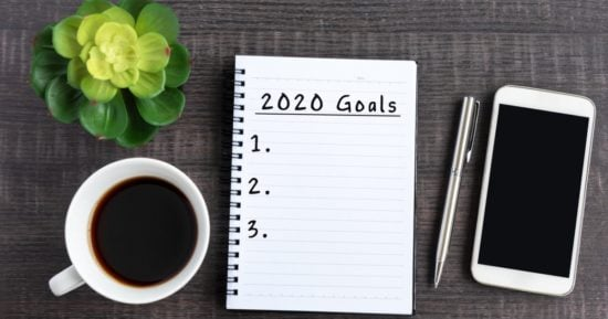 goals-text-on-note-pad-picture-id1150655075