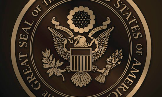 The Great Seal of the US Gold