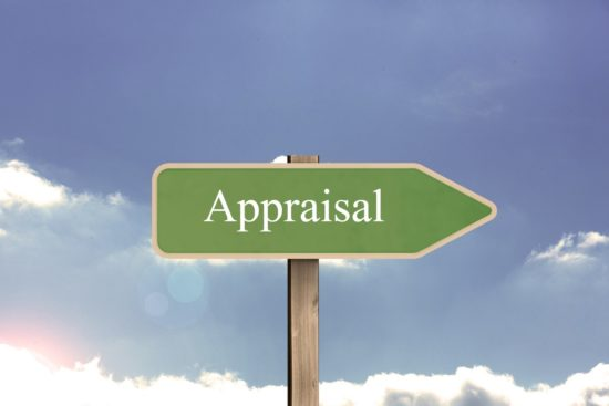 appraisal road sign