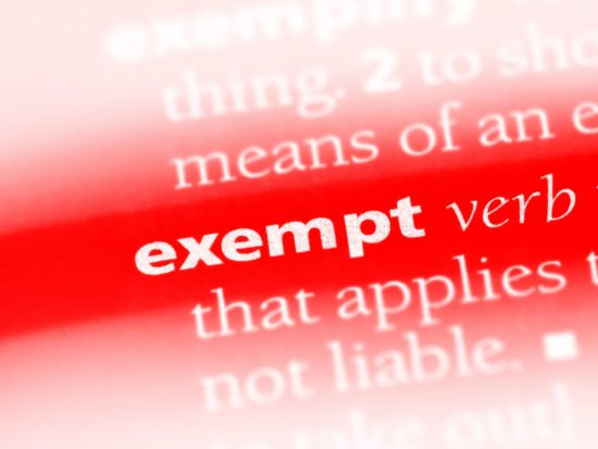 Exempt,Word,In,A,Dictionary.,Exempt,Concept