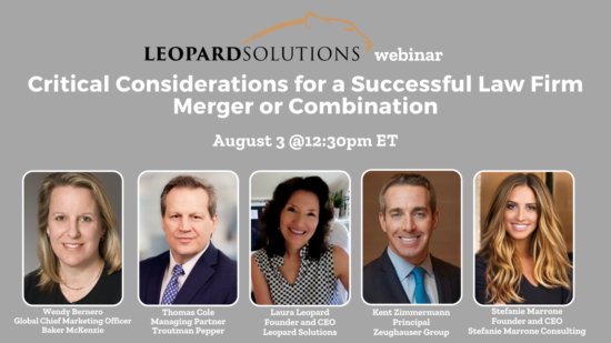 Critical Considerations for a Successful Law Firm Merger or Combination (4)